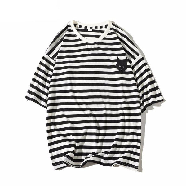 Striped Cat T-shirt