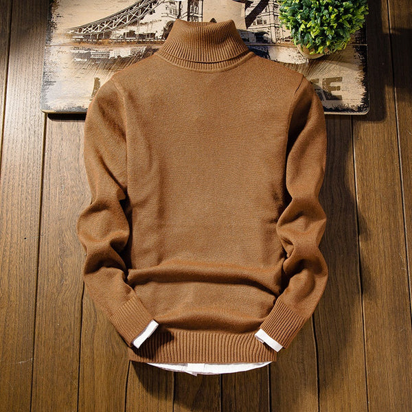 Classic Turtleneck Sweater