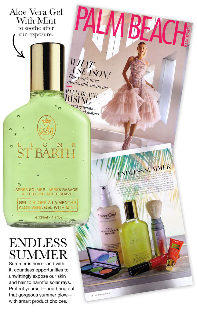 Ligne St. Barth, Aloe Vera Gel With Mint, Beauty Frontier