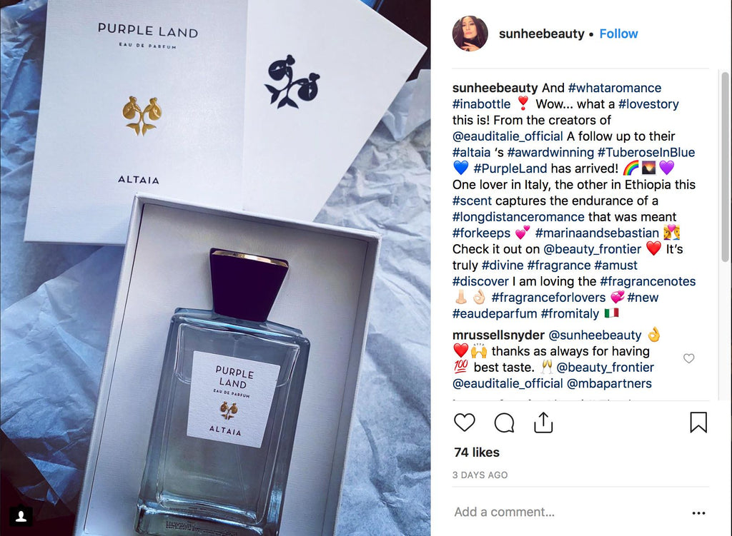 ALTAIA, Purple Land, Eau de Parfum, Beauty Frontier