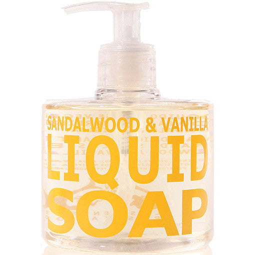 Eau d'Italie Sandalwood & Vanilla Liquid Soap 300 ml