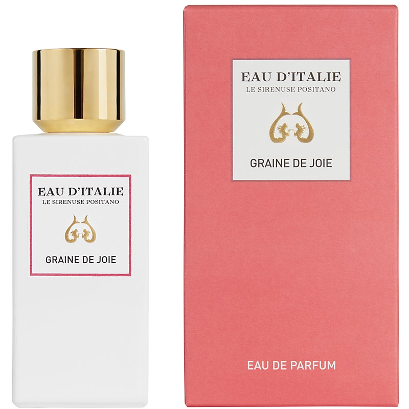Eau d'Italie Graine de Joie Eau de Parfum Spray (100 ml) with box