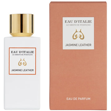 Eau d'Italie Jasmine Leather Eau de Parfum Spray (100 ml) with box