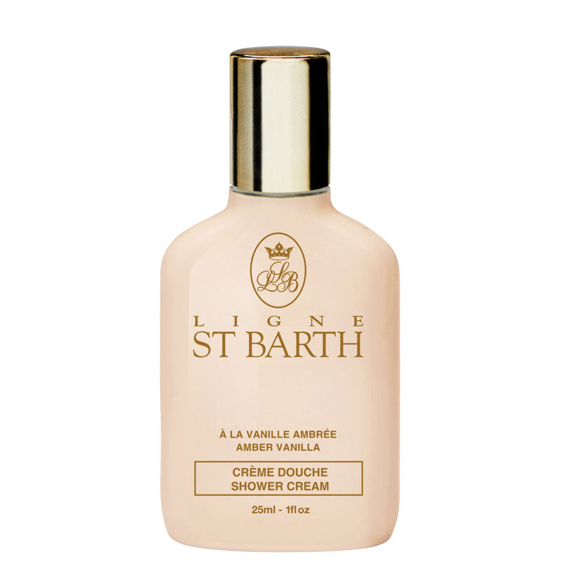 St. Barth Amber Vanilla Shower Cream (25 ml / 1 oz)
