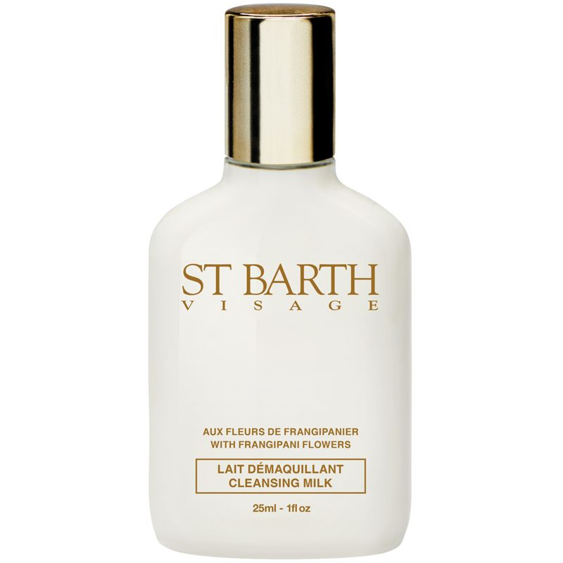 Ligne St. Barth Cleansing Milk With Frangipani Flowers - 25 ml