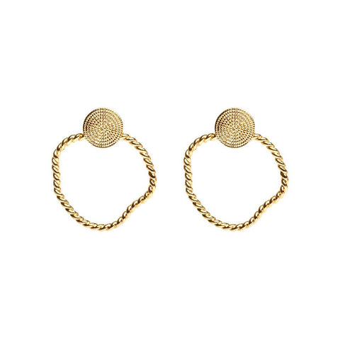 Ada + Amanda Earrings Gold