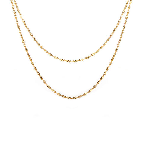 Alexandra Gold Necklace - Emma & Chloe