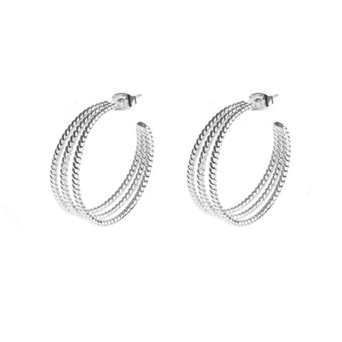 Alphonsine Silver Earrings - Emma & Chloe