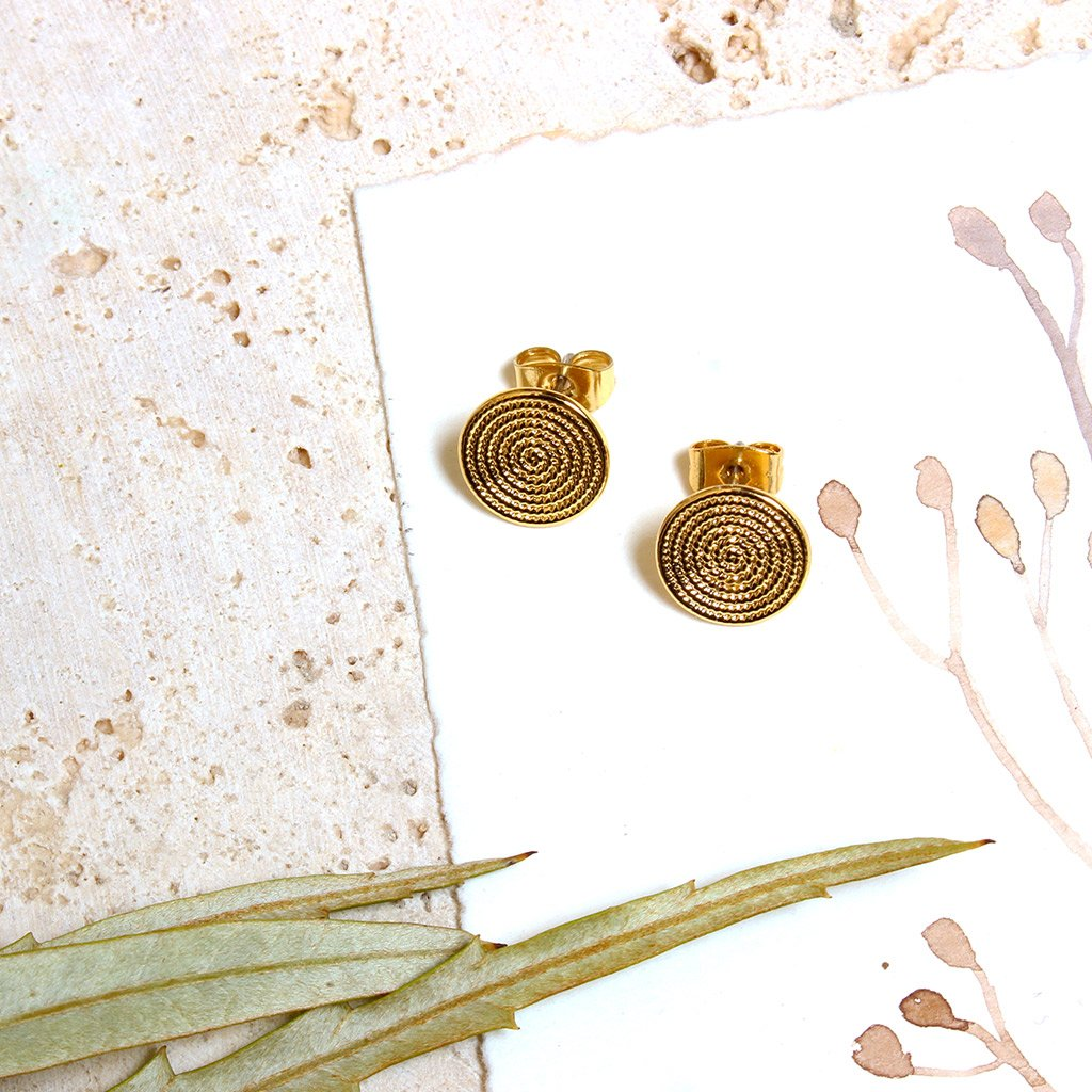 Amanda Gold Earrings - Emma & Chloe