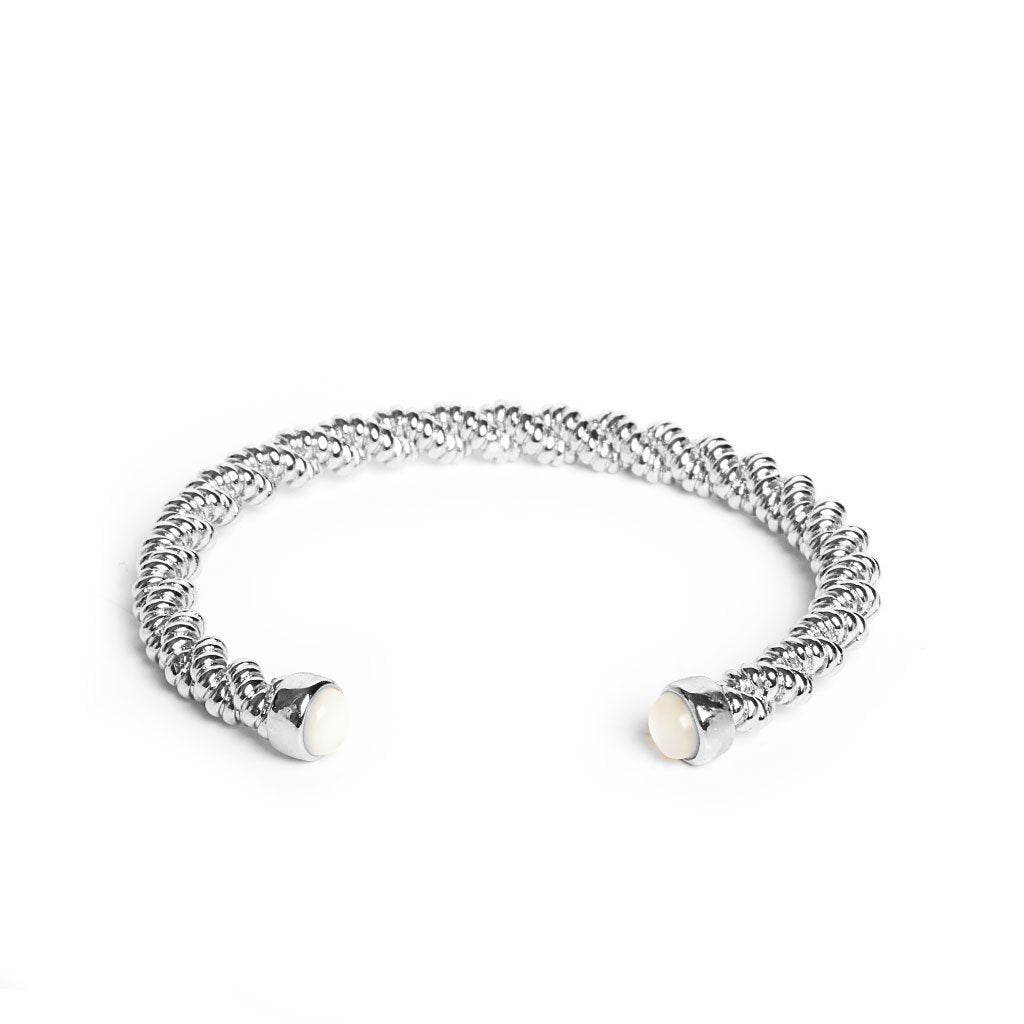Anouk Silver Bangle - Emma & Chloe