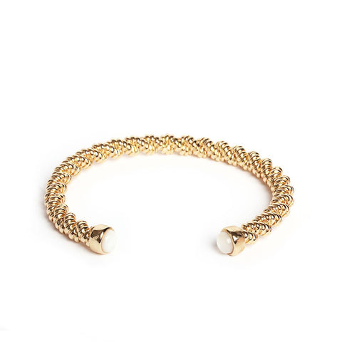 Anouk Gold Bangle - Emma & Chloe