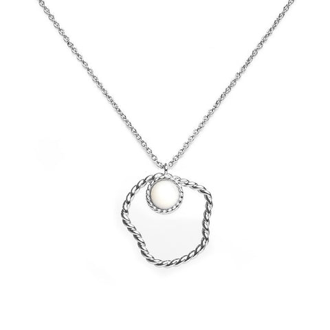 April Silver Necklace - Emma & Chloe