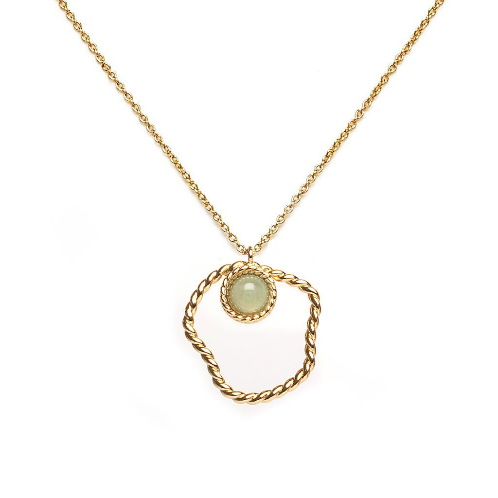 April Gold Necklace - Emma & Chloe