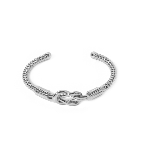 Armel Silver Bangle - Emma & Chloe