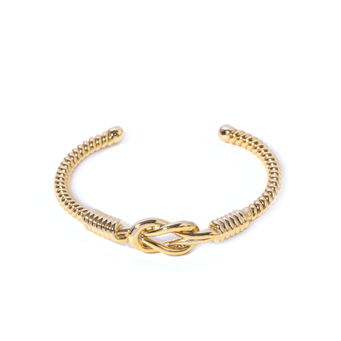 Armel Gold Bangle - Emma & Chloe