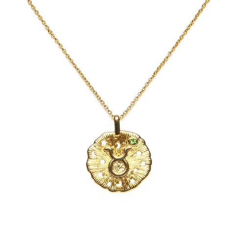 Taurus Thin Necklace