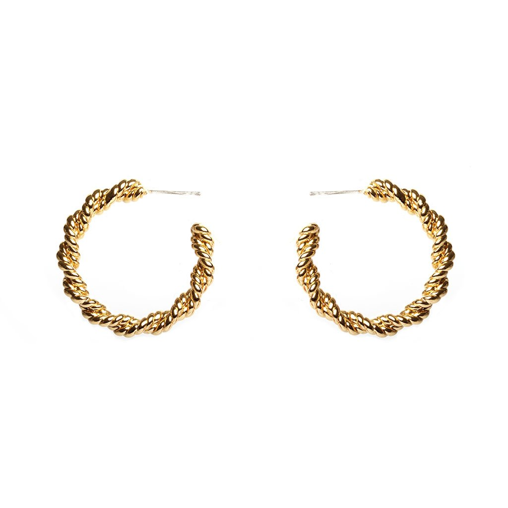 Augustine Gold Earrings - Emma & Chloe