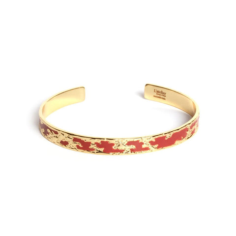 Artemis terracotta bangle - Emma & Chloe
