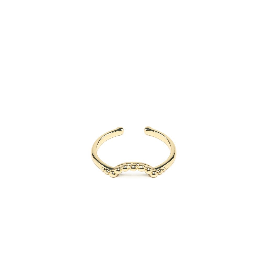 Hedele ring gold - Emma & Chloe