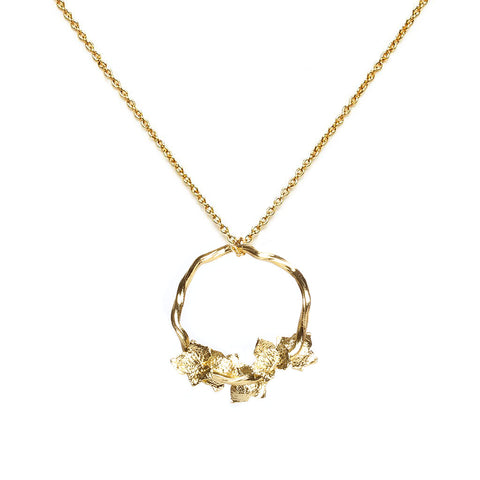 Beskide Gold Necklace - Emma & Chloe
