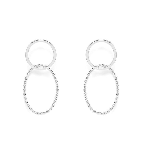 Abelle Silver Earrings - Emma & Chloe