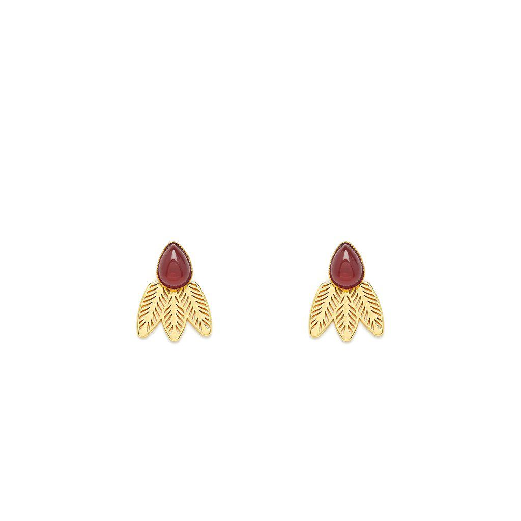 Doriane Gold Earrings - Emma & Chloe