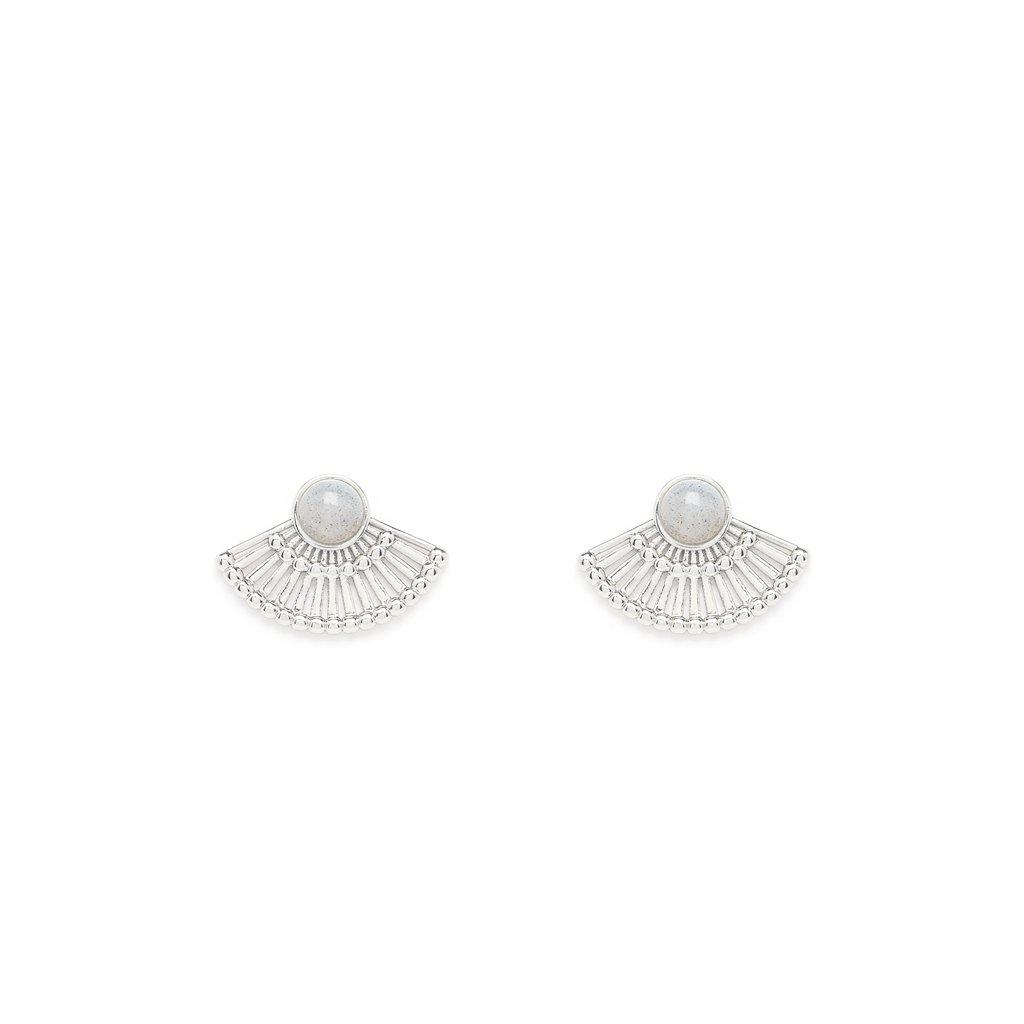 Dorothée Silver Earrings - Emma & Chloe
