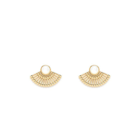 Dorothée Gold Earrings - Emma & Chloe