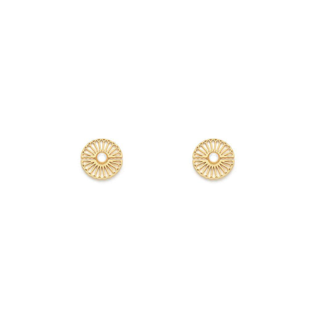 Magda Gold Earrings - Emma & Chloe