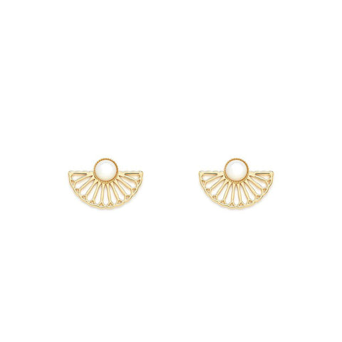 Manon Earrings Gold - Emma & Chloe
