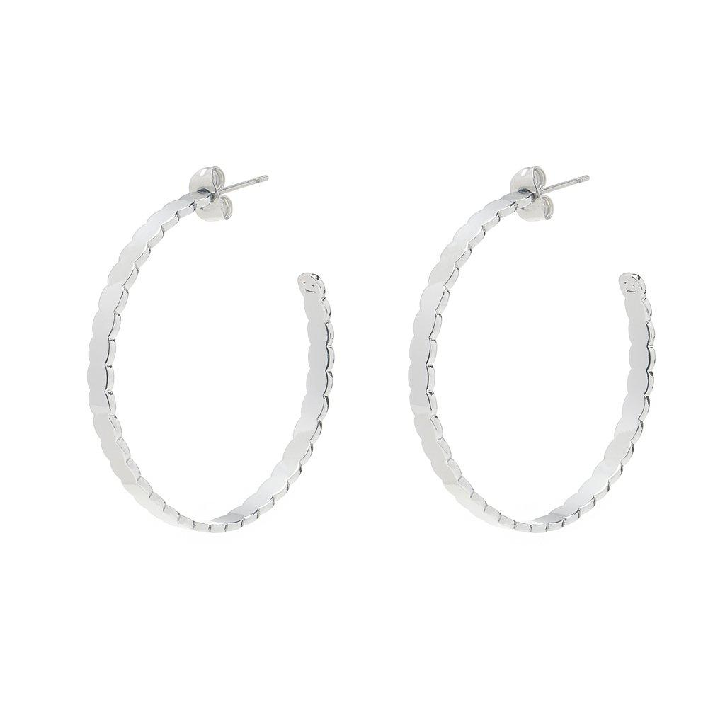 Mia Silver Earrings - Emma & Chloe