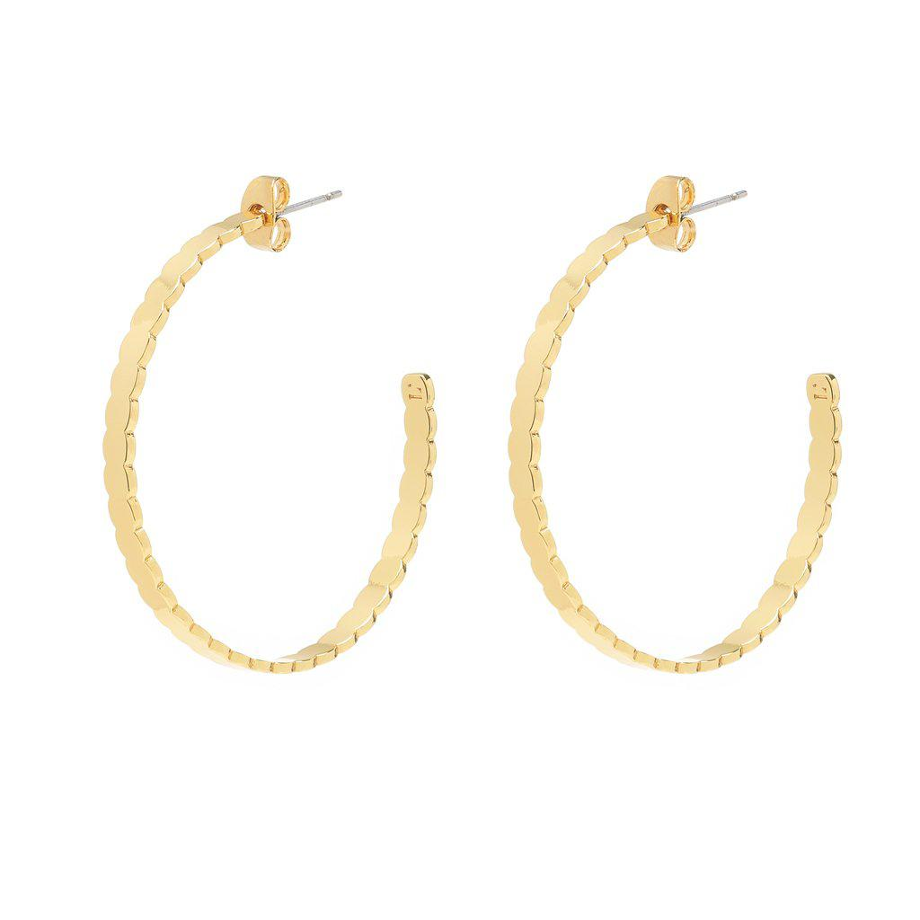 Mia Gold Earrings - Emma & Chloe