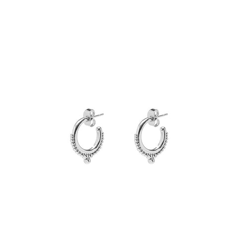 Heidi earrings silver - Emma & Chloe