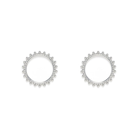 Helena earrings silver - Emma & Chloe