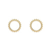 Helena earrings gold - Emma & Chloe