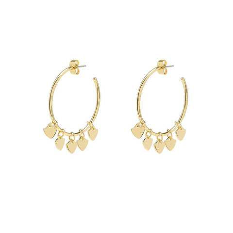 Seraphine Earrings Gold - Emma & Chloe