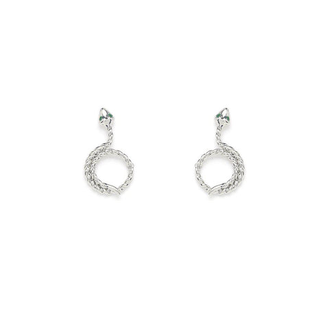 Serena Earrings Silver - Emma & Chloe