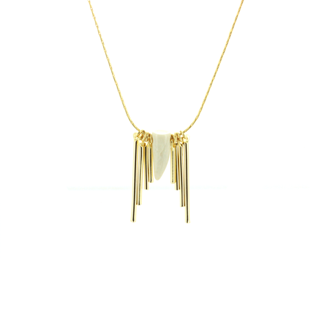 Sunhorn Long Necklace - Emma&Chloe