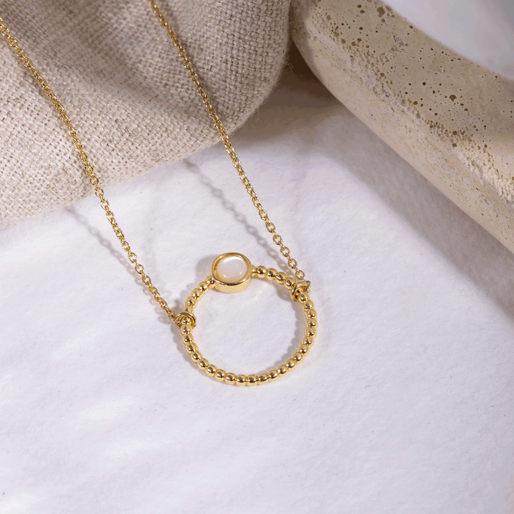 Cassiopé Gold Necklace - Emma & Chloe