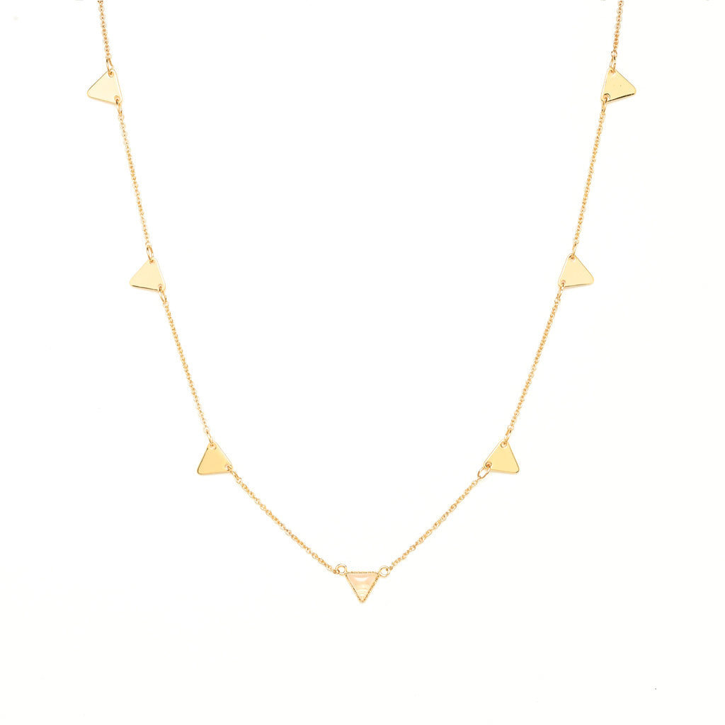 Leonore Gold Necklace - Emma & Chloe