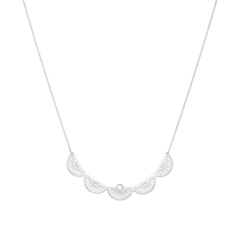 Maya Silver Necklace - Emma & Chloe