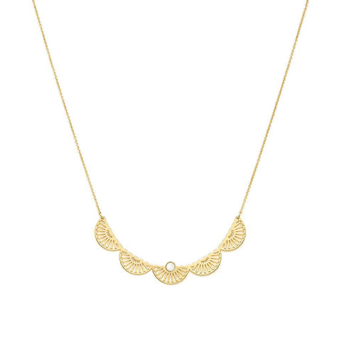 Maya Gold Necklace - Emma & Chloe