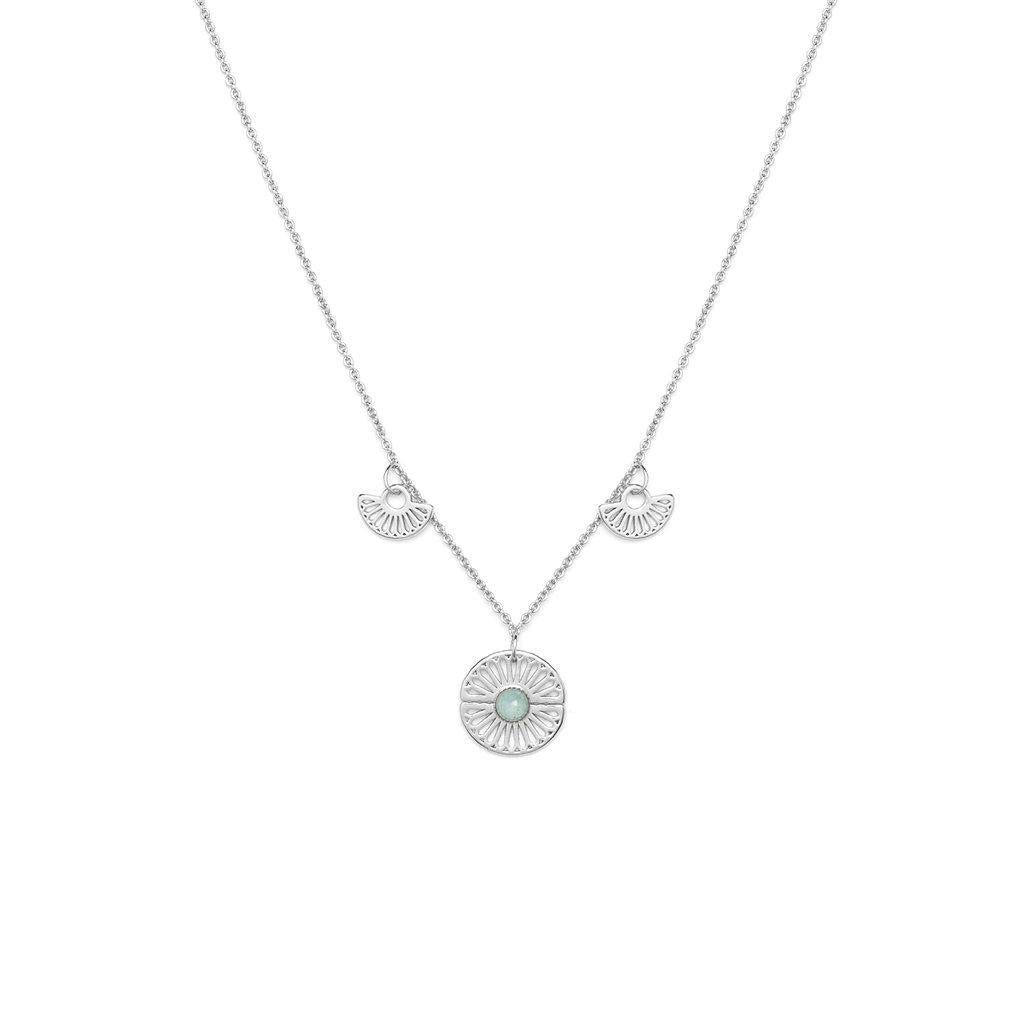 Morgane Silver Necklace - Emma & Chloe