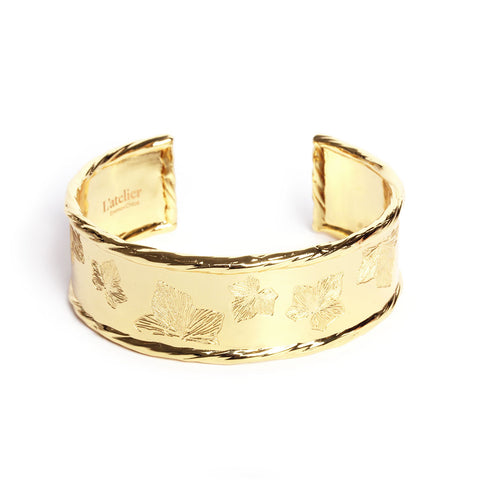 Daintree Gold Bangle - Emma & Chloe