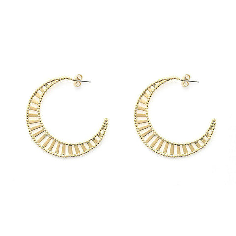 Desiree Gold Earrings - Emma & Chloe