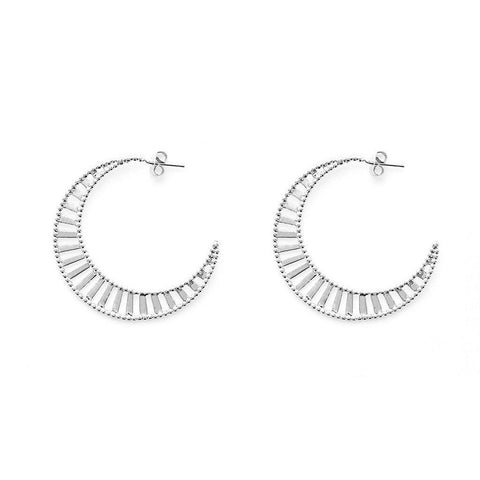 Desiree Silver Earrings - Emma & Chloe