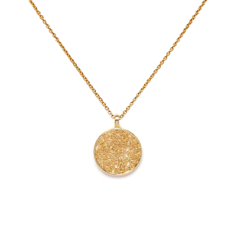 Eros Gold Necklace - Emma & Chloe