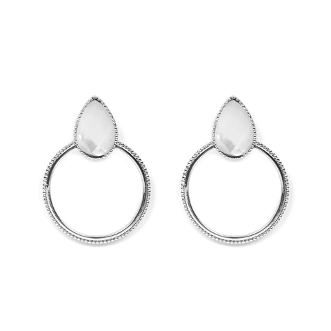 Halima Silver Earrings