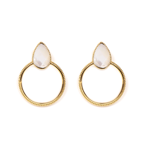 Halima Gold Earrings