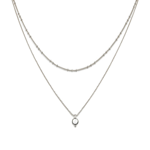 Hania necklace silver - Emma & Chloe